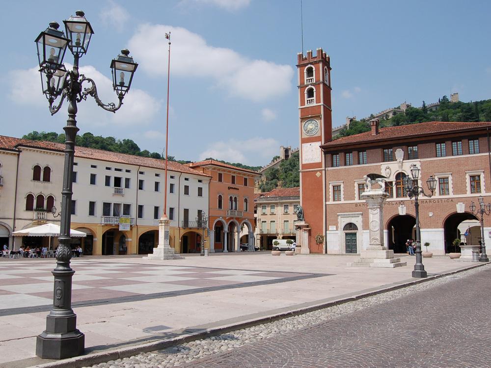 Marostica Piazza degli Scacchi