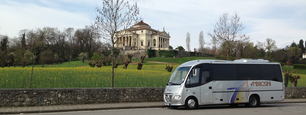 Tour Villa Rotonda Palladio Navetta