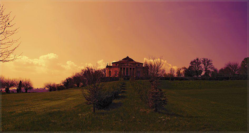 Rotonda Palladio Vicenza al tramonto