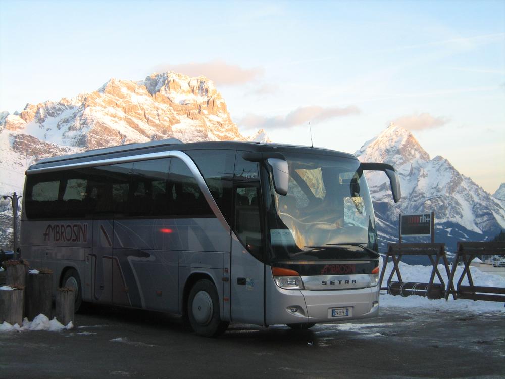Setra 411 Cortina